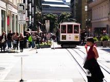 Vue d'océan de rue de San Francisco Bay Area image stock