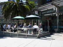 Vue d'océan de rue de San Francisco Bay Area images libres de droits