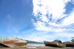 Vue d'océan en Indonésie Photo stock