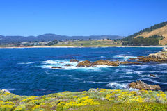 Vue d'océan, 17 milles d'entraînement Photographie stock
