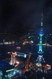 Vue d'oeil d'oiseau de Changhaï image stock