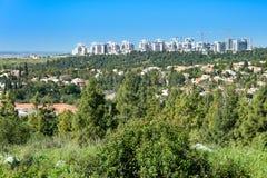 Vue d'oeil d'oiseau de la Cisjordanie Photos stock