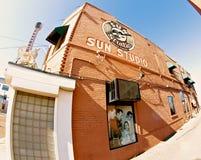 Vue d'oeil de poissons de studio de Sun, Memphis Tennessee Photos libres de droits