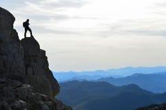 Vue d'oeil du ` s d'oiseau du haut de Taurus Mountains Photo stock