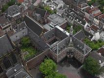 vue d'oiseau d'Utrecht, Netherland Photos stock