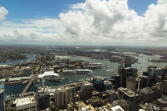 Vue d'oiseau de Sydney Photo libre de droits