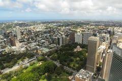 Vue d'oiseau de Sydney Image stock