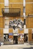 Vue d'Orgosolo sardinia l'Italie photos stock