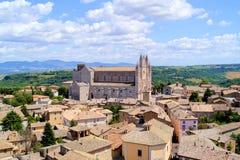 Vue d'Orvieto Image libre de droits