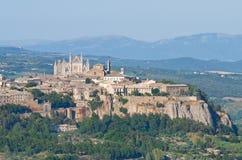 Vue d'Orvieto. l'Ombrie. l'Italie. Images stock