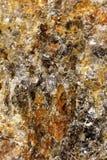 Vue d'UIltranear des minerais colorés images libres de droits