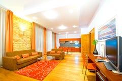 Vue d'un apartament de luxe photographie stock