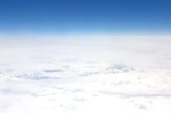 Vue d'un avion Photo stock
