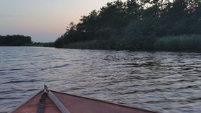 Vue d'un bateau Photos libres de droits