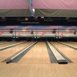 Vue d'un bowling images libres de droits