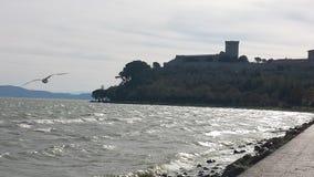 Vue d'un château Photos stock