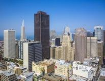 Vue d'un dessus de toit à la ville de San Francisco Images stock