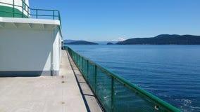 Vue d'un ferry image libre de droits