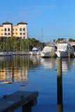 Vue d'un pilier à Melbourne, la Floride Photographie stock