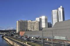 Vue d'un secteur de Boulogne Billancourt Image stock