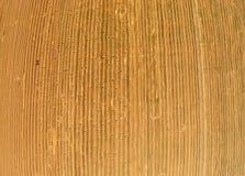 Vue d'une vue d'oeil du ` s d'oiseau sur un champ avec les balles empilées de blé Image libre de droits
