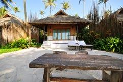 Vue d'une station de vacances en Thaïlande Images libres de droits