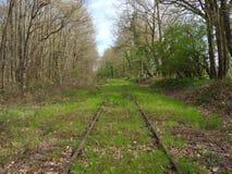 Vue d'une voie abandonnée Image libre de droits