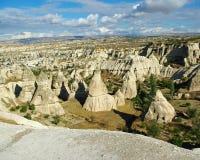 Vue dans Cappadocia Photo libre de droits