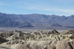 Vue dans Death Valley Images libres de droits