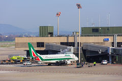 Vue dans l'aéroport de Zurich Photo libre de droits