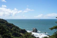 Vue dans l'extrémité de terres, San Francisco Images stock