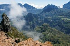 Vue dans l'intérieur de Reunion Island Photos libres de droits