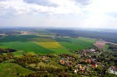 Vue dans la République Tchèque Photo stock