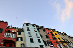 Vue dans Portovenere, Italie Images stock
