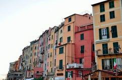 Vue dans Portovenere, Italie Photographie stock