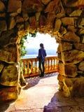 Vue dans San Sebastian, Espagne Photo stock