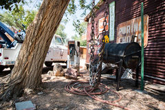Vue dans SELIGMAN, ARIZONA/USA Images stock