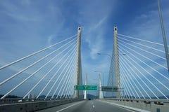 Vue de 2ème pont de Penang Image stock
