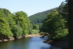 vue de 2 lacs Photos libres de droits