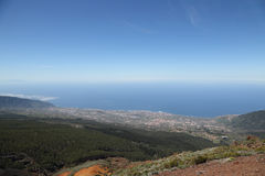 Vue de bâti Teide Photos stock