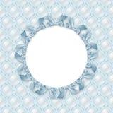 Vue de bébé de texture de nacre F?te de naissance bleue Fond d'illustration de texture de nacre Rubans bleus illustration libre de droits