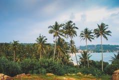 Vue de baie d'Unavatuna Images libres de droits