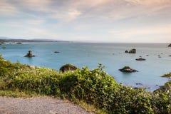 Vue de baie du Trinidad Images stock