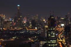 Vue de Bangkok Image libre de droits