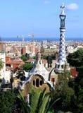 Vue de Barcelone Image stock