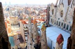 Vue de Barcelone photo libre de droits