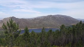 Vue de barrage Photo libre de droits