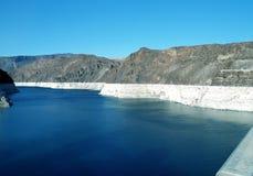 Vue de barrage de Hoover d'hydromel de lac Photographie stock