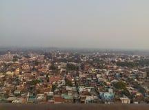 Vue de Barsana de temple Photo libre de droits