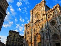 Vue de basilique de saint Mary de la fleur Photographie stock